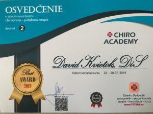 Licence chiropraxe